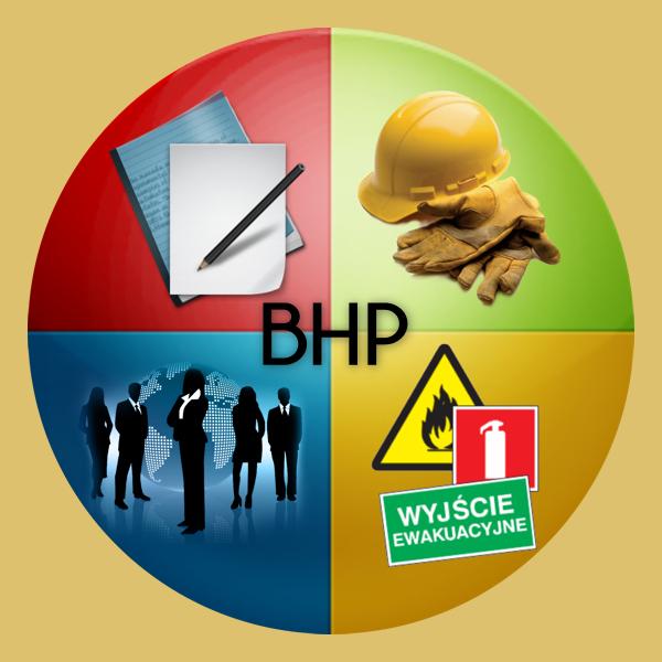 Ilustracja do informacji: SZKOLENIA BHP
