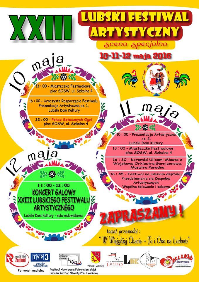 Ilustracja do informacji: XXIII Lubski Festiwal Artystyczny
