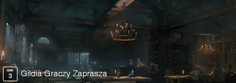 Ilustracja do informacji: GILDIA GRACZY ZAPRASZA