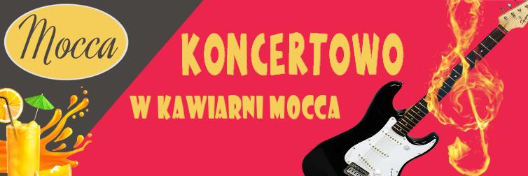 Ilustracja do informacji: Koncertowo w kawiarni Mocca