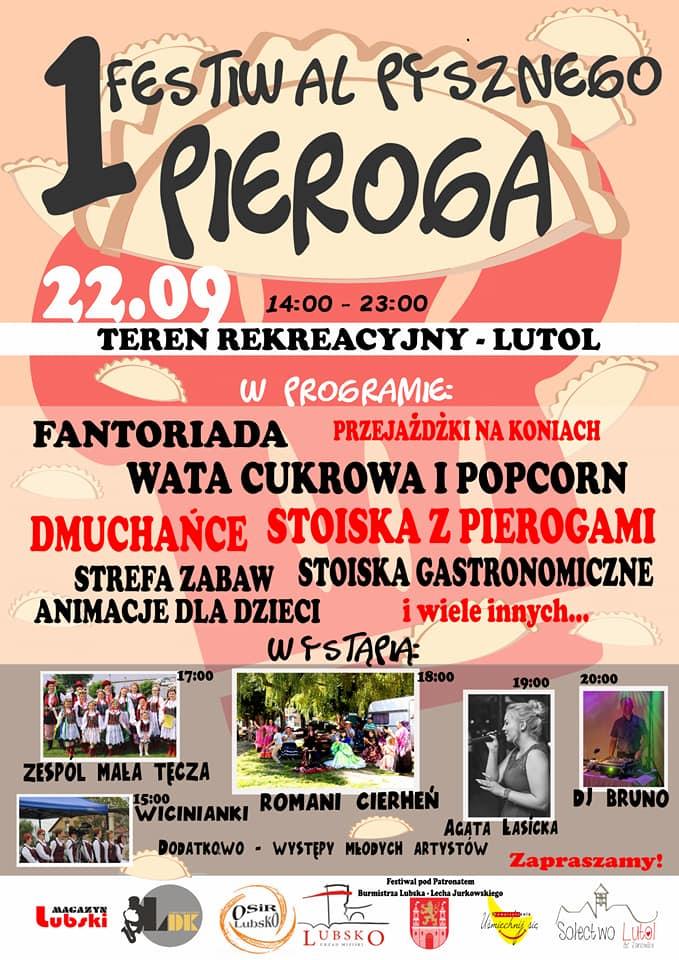 Ilustracja do informacji: 1 Festiwal Pysznego Pieroga