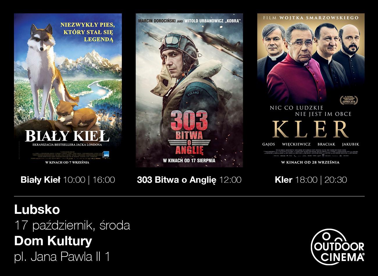 Ilustracja do informacji: Profesjonalne Kino Objazdowe Outdoor Cinema w Lubsku