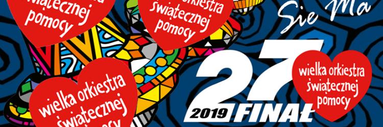 Ilustracja do informacji: Wielka Orkiestra Świątecznej Pomocy - 27 FINAŁ