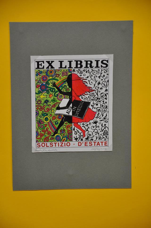 Ilustracja do informacji: Wystawa ekslibrisu
