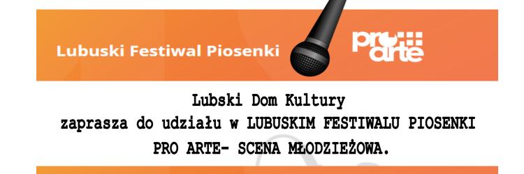 Ilustracja do informacji: Lubuski Festiwal Piosenki
