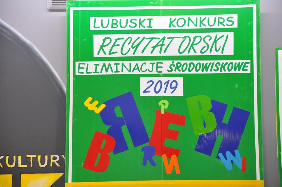 Ilustracja do informacji: Lubuski Konkurs Recytatorski-eliminacje