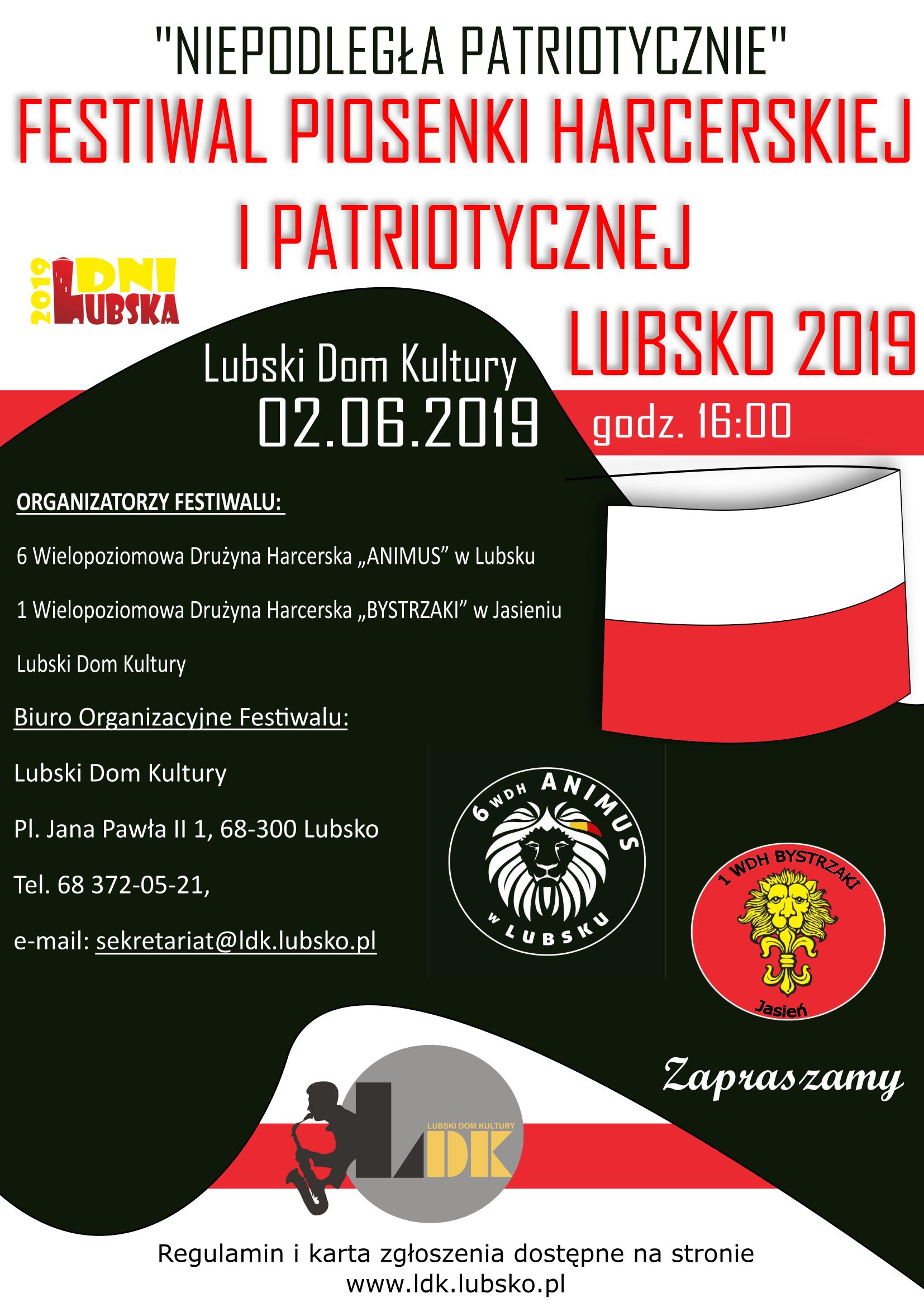 Ilustracja do informacji: Festiwal Piosenki Harcerskiej i Patriotycznej &quo
