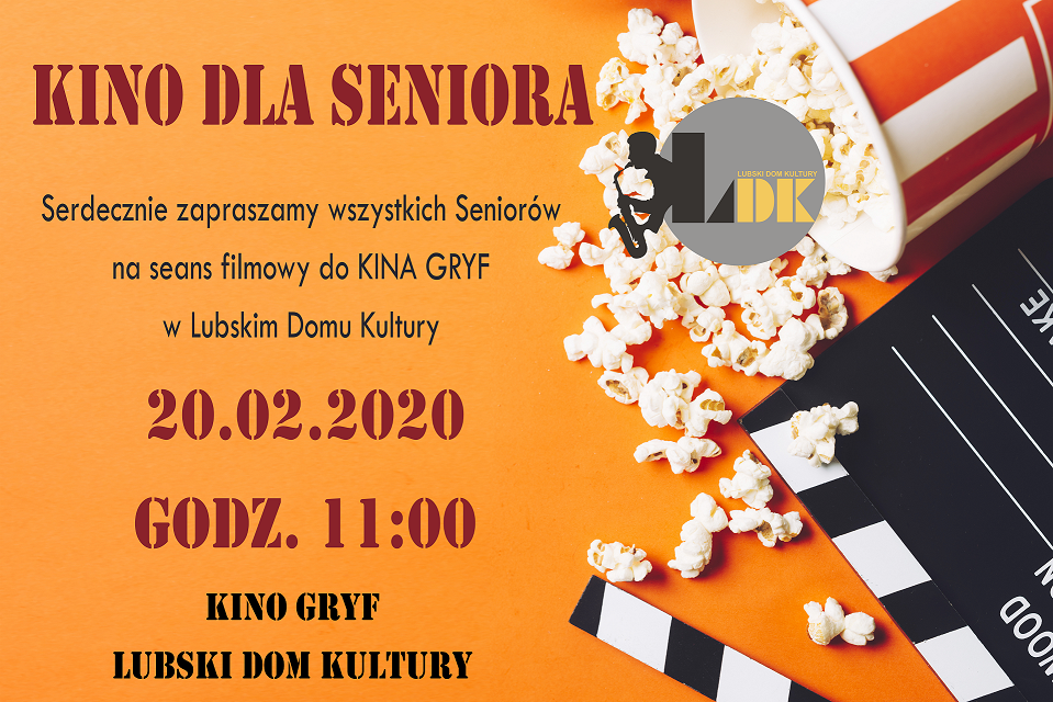 Ilustracja do informacji: Kino dla Seniora