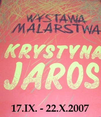 Miniatura zdjęcia: Wystawa Prac Krystyny Jaros_jaros1.JPG