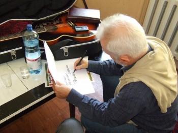 Miniatura zdjęcia: Recital KRZYSZTOFA PIASECKIEGO 23 września 2007 r. _DSCF0887.JPG